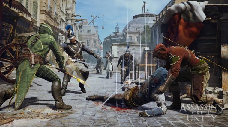 Assassin's Creed: Unity launch trailer - a forradalom borzalmai  bevezetőkép