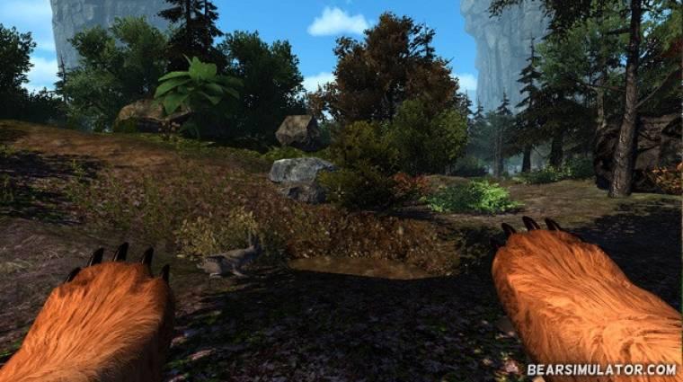 Bear Simulator - kecskék után szabadon bevezetőkép