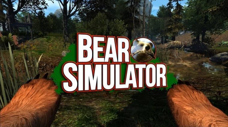 Bear Simulator - alig egy hét alatt összegyűlt a pénz, elkészül a csoda bevezetőkép