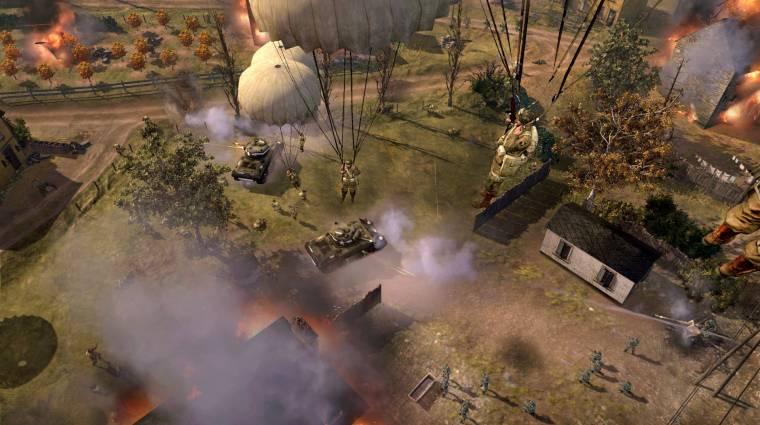 Company of Heroes 2: The Western Front Armies - jön a nyári front bevezetőkép