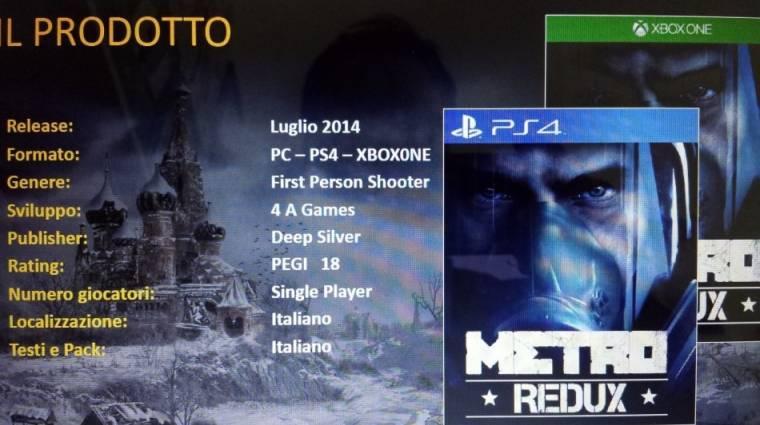 Metro: Redux - 60 FPS lesz PlayStation 4-en bevezetőkép