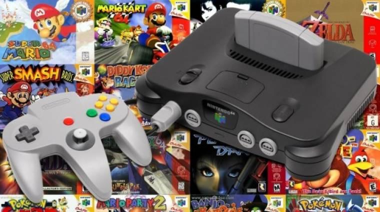 20 éve jelent meg Európában a Nintendo 64 bevezetőkép