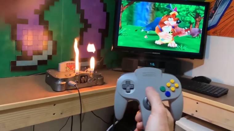 Napi büntetés: itt a tűzokádó Nintendo 64 bevezetőkép