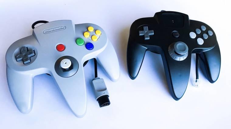 Ilyen is lehetett volna a Nintendo 64 kontrollere bevezetőkép