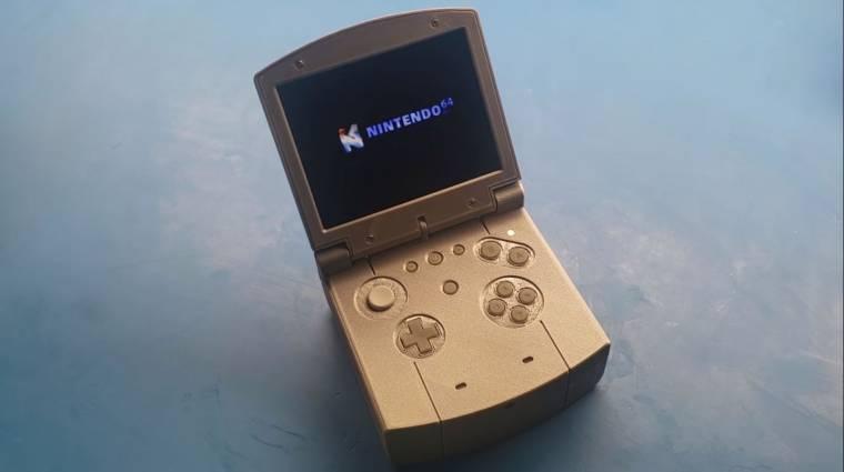 Valaki elkészítette a Nintendo 64 kézikonzol verzióját bevezetőkép