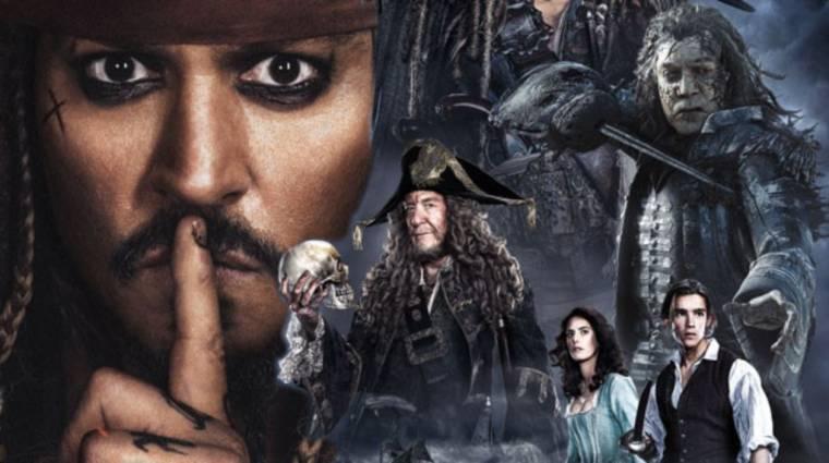A Karib-tenger kalózai 5 közzétételével zsarolják a kalózok a Disney-t bevezetőkép