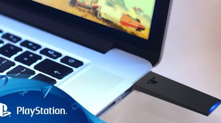 DualShock 4 USB adapter - itt a magyar ár és megjelenési dátum bevezetőkép