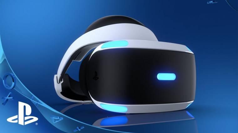 PlayStation VR - vezeték nélküli változat érkezhet bevezetőkép