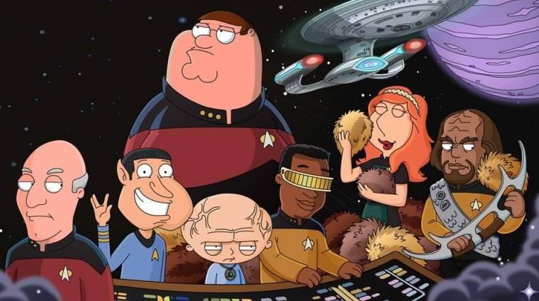 Family Guy: The Quest for Stuff - Star Trek frissítés jött, eredeti szinkronnal bevezetőkép