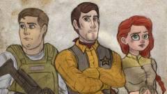 Így lesznek a Disney karakterek The Walking Dead szereplők kép