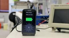 26 másodperc alatt töltődő akkumulátor kép