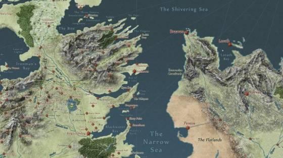 trónok harca térkép Zseniális interaktív térkép Trónok Harca rajongóknak   Hír   GameStar