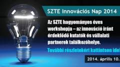 SZTE Innovációs Nap 2014 kép
