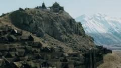 Gyönyörű és pontos a Minecraftban épített Rohan kép