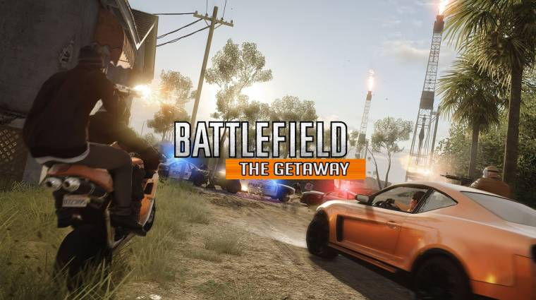 Battlefield Hardline - napokon belül itt a Getaway DLC, addig is itt egy trailer bevezetőkép