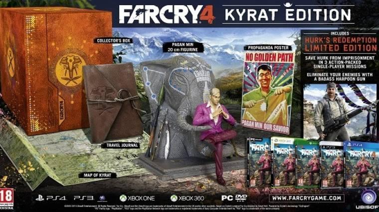 Far Cry 4 - nézd, ez a Kyrat Edition! (videó) bevezetőkép