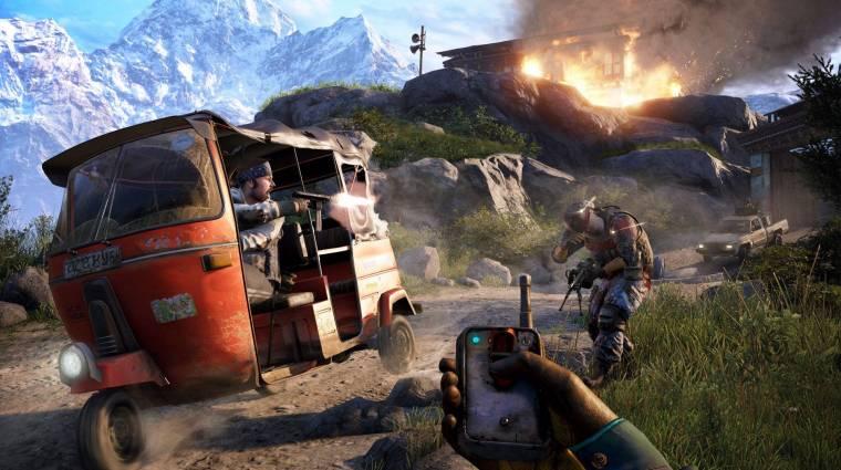 Far Cry 4 - brutálisat oszt a dobókéses nindzsa bevezetőkép