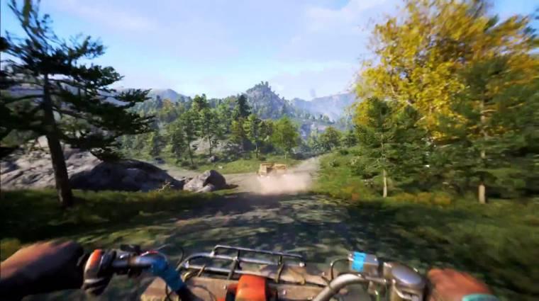 Far Cry 4 - versenyzés és vadászat 1080p-ben (videó) bevezetőkép