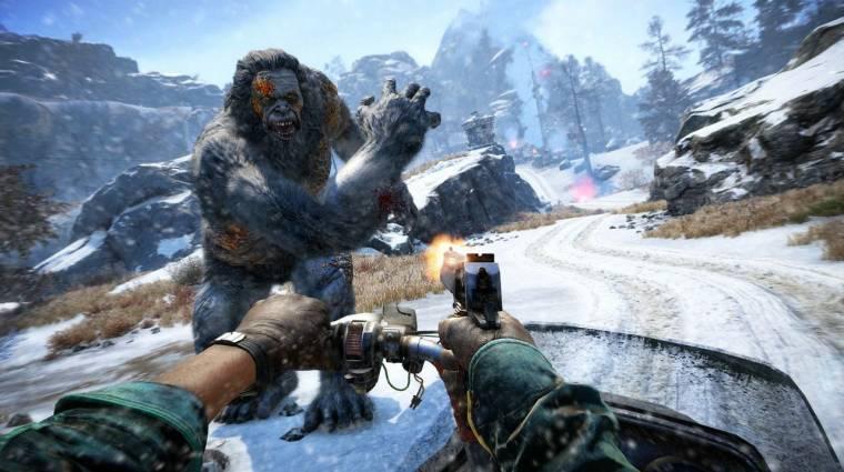 Far Cry 4 trailer - hamarosan mehetünk jetiket ölni bevezetőkép