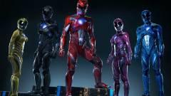 Teljes felszerelésükben díszelegnek a Power Rangerek kép