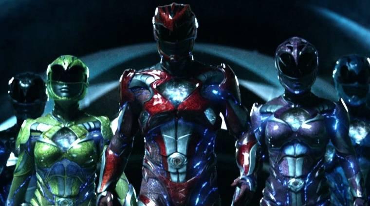 Power Rangers - ismét mozgás közben láthatjuk a szereplőket bevezetőkép