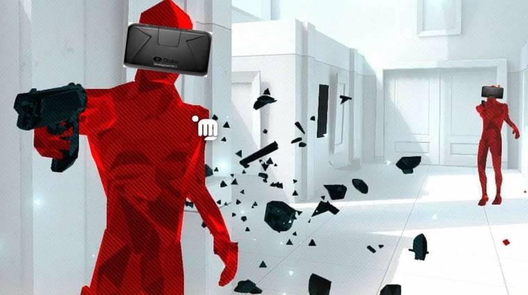 Superhot - még idén jön a VR-verzió, de exkluzív lesz bevezetőkép