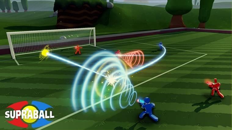 Supraball - a világ legjobb focijátéka egy FPS bevezetőkép