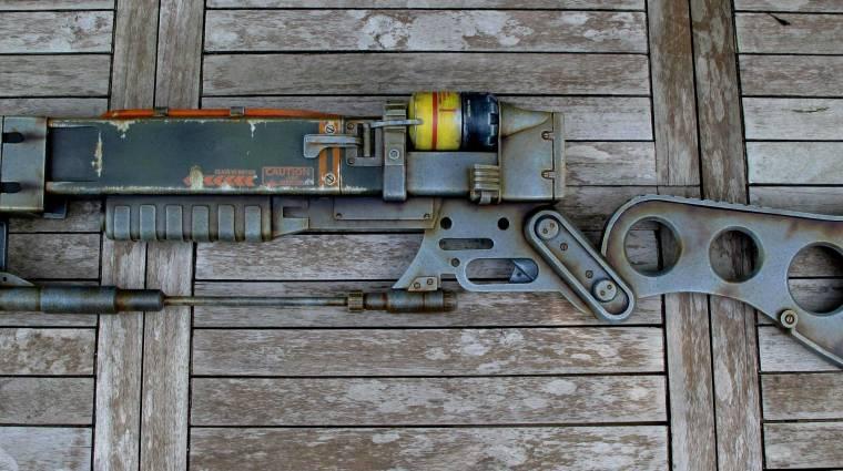 Fallout 3 lézerfegyver replika - ezzel már nem gond az apokalipszis bevezetőkép