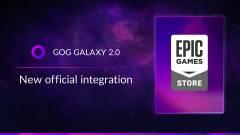 A GOG GALAXY 2.0 most már Epic Games Store-os játékainkat is kezeli kép
