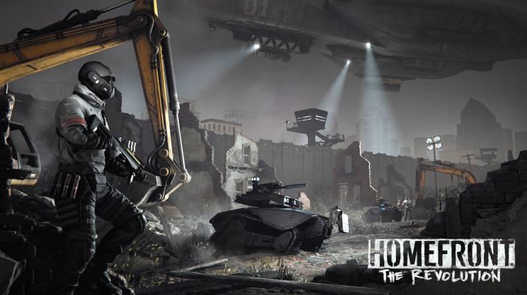 Homefront: The Revolution - ilyen az alternatív történelem (videó) bevezetőkép