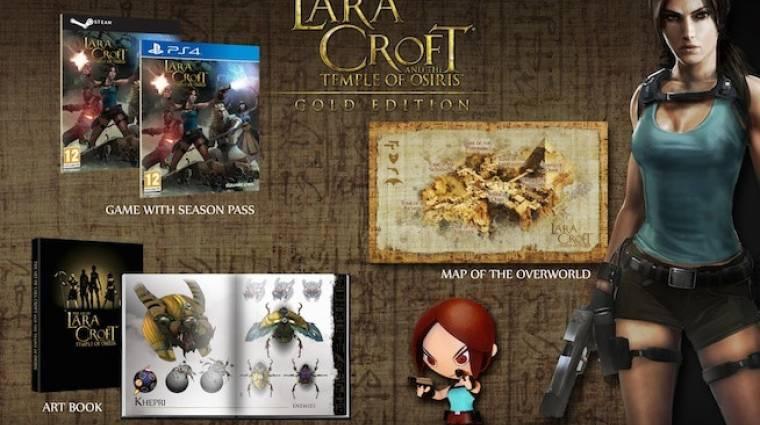 Lara Croft and the Temple of Osiris - gyűjtői kiadás mini Lara figurával bevezetőkép