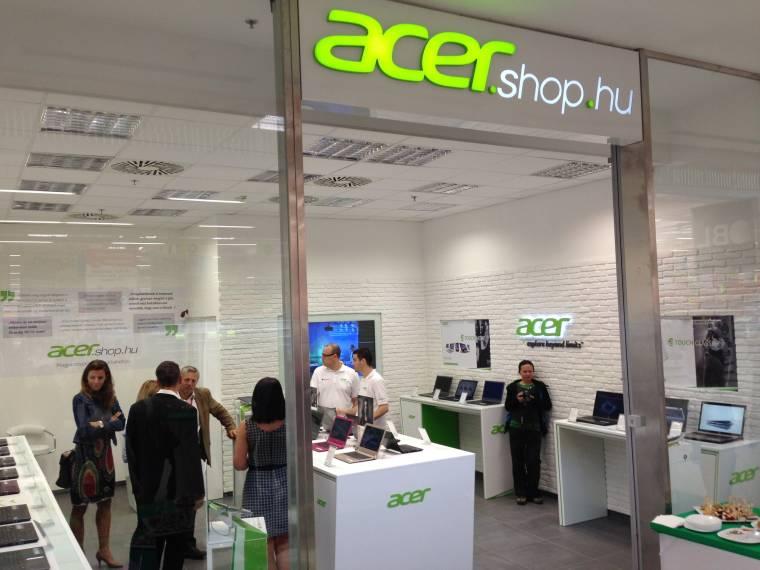 Megnyílt a harmadik Acer márkabolt - PC World 7528649760