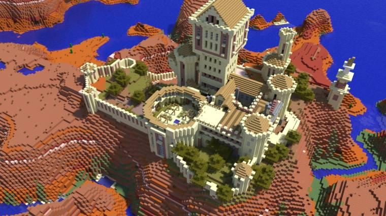 Minecraft - nem hisszük el, hogy ez nem igazi bevezetőkép
