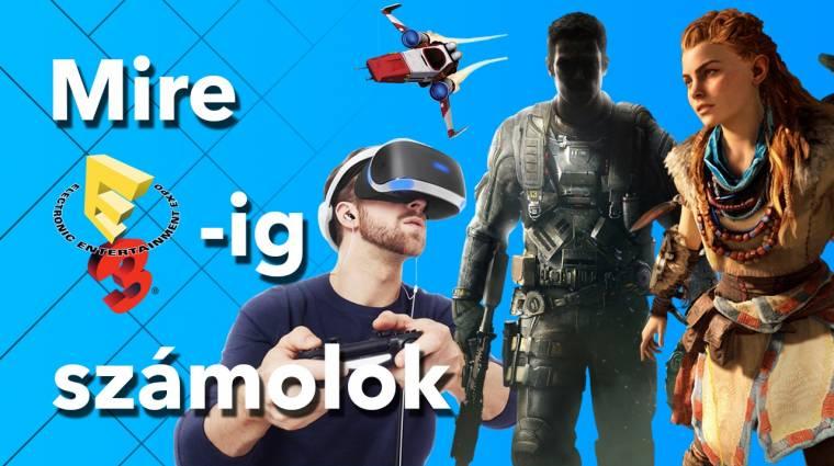 Mire E3-ig számolok - Sony PlayStation bevezetőkép