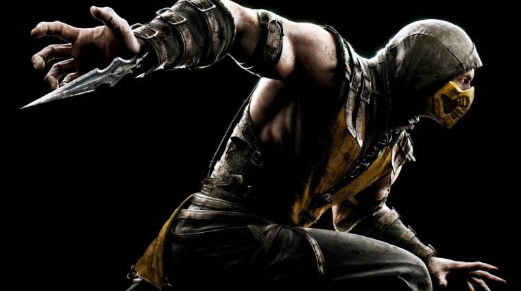 Mortal Kombat X - szokásosan brutális Scorpion kivégzése (videó) bevezetőkép