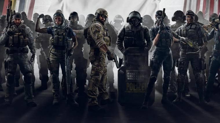 Hatalmas siker itthon is a Rainbow Six: Siege bevezetőkép