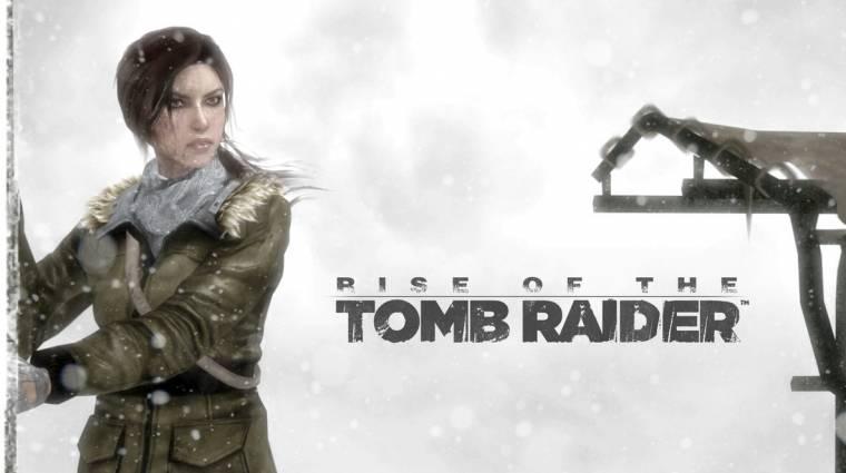Rise of The Tomb Raider exkluzivitás - megszólalt a Square Enix is bevezetőkép
