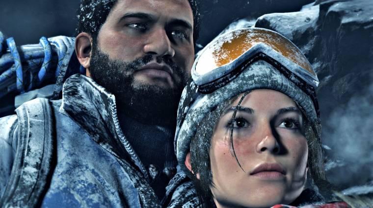 Rise of the Tomb Raider - PS4-en 1080p/30fps a cél bevezetőkép