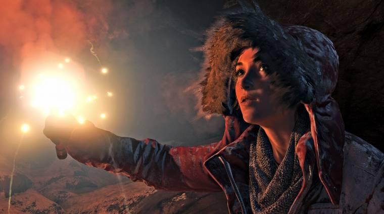 Rise of the Tomb Raider - ez lenne a PS4-es megjelenési dátum? bevezetőkép
