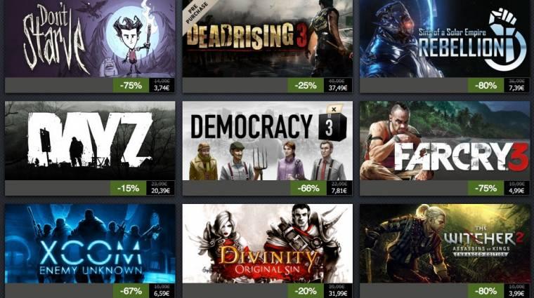 Steam Summer Sale - elkezdődött, itt az első adag játék bevezetőkép