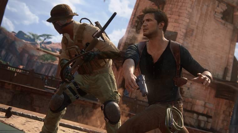 Újabb év játéka díjat zsákolt be az Uncharted 4: A Thief's End bevezetőkép