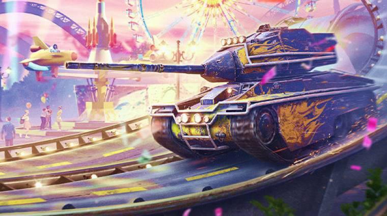 Megszépül és új páncélosokat kínál a szülinapos World of Tanks Blitz bevezetőkép