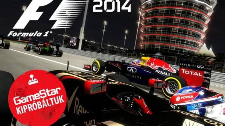 F1 2014 előzetes - az utolsó előző generációs cirkusz bevezetőkép