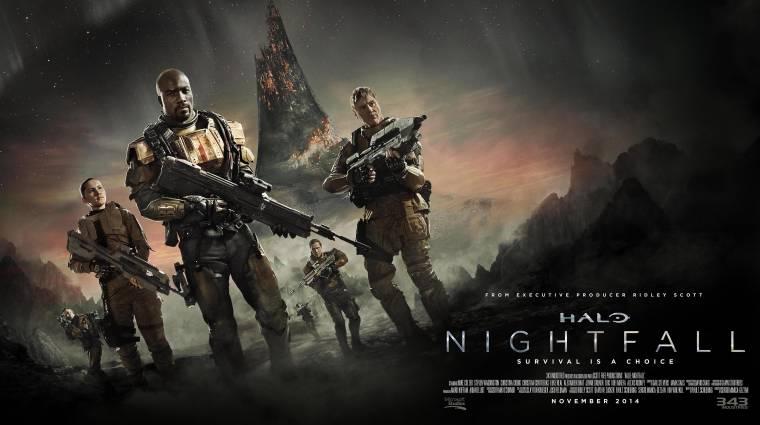 Comic-Con 2014 - befutott a Halo: Nightfall trailere bevezetőkép