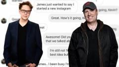 Nincs annál viccesebb mikor James Gunn egy magát a Marvel elnökének kiadó trollal chatel kép