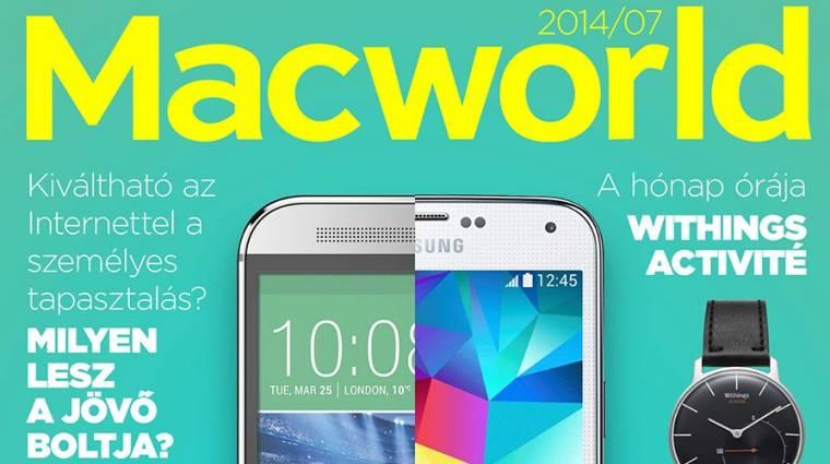 Megjelent a legújabb Macworld kép