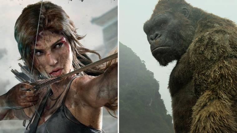 Animációs Tomb Raider és Skull Island sorozatok érkeznek a Netflixre kép