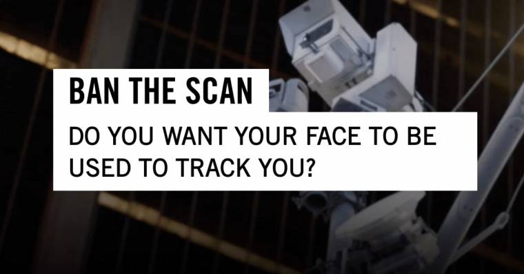 Advocacy groups are calling for a ban on invasive facial recognition technology