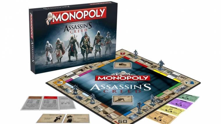 Jön az Assassin's Creed Monopoly bevezetőkép