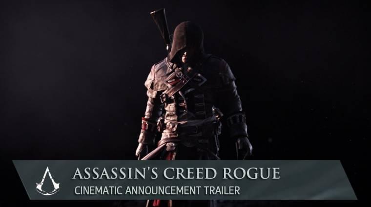 Assassin's Creed Rogue - már hivatalos, itt a trailer bevezetőkép